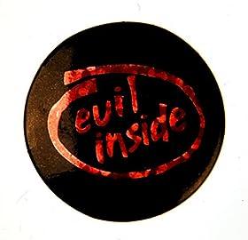 Evil Inside Intelバッジ