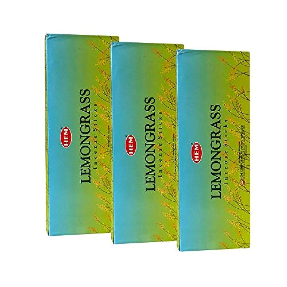 意見電卓キャプチャーHemレモングラス香、3ボックス – (360 Sticksバルクper order)