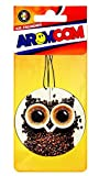 Aromcom Car Air Freshener 3D Model with Coffee Cappuccino Fragrance 100% French Perfume Pack of 15 fresheners [並行輸入品]