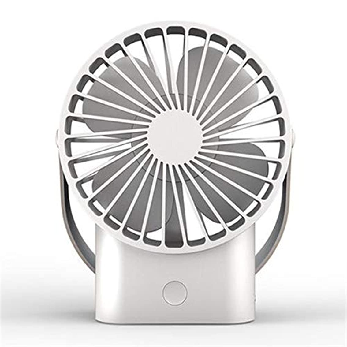 反乱言語学集中的な手持ち型の携帯用ハンドルファンUsbの冷却のテーブルの扇風機の屋外の個人的な卓上ファン 携帯扇風機