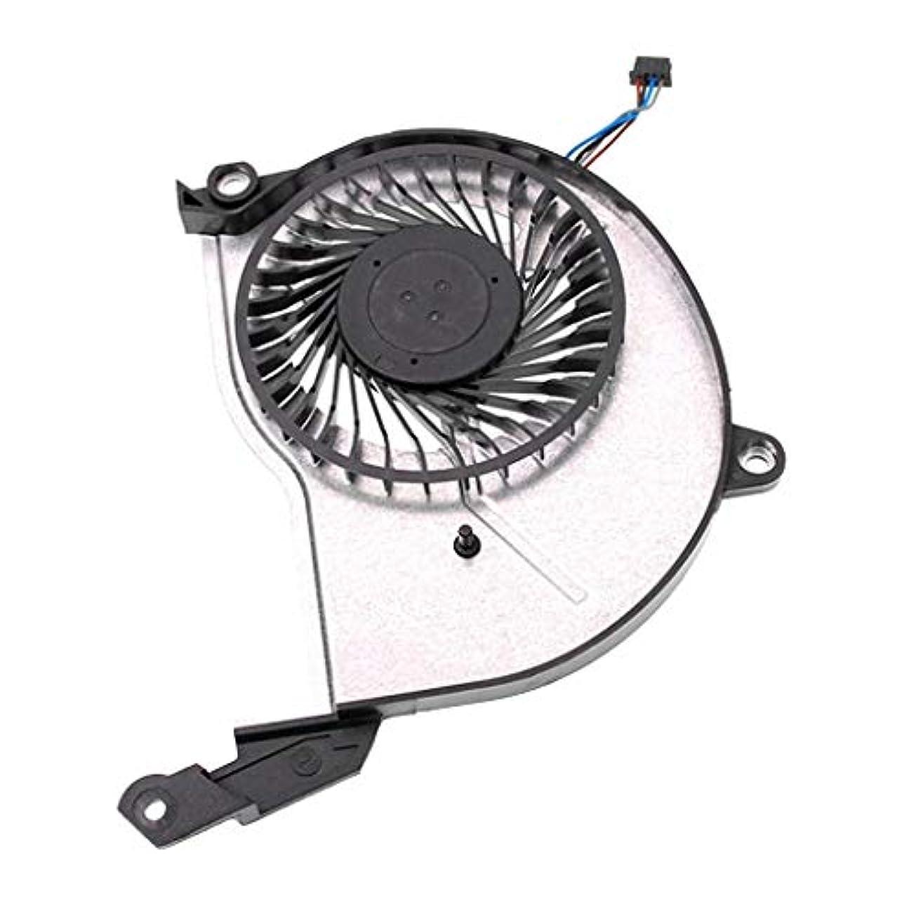 ヘルシー悲しい論争の的CPU 冷却ファン 4ピンコネクタ HP Pavilion 15-n247sa 15-n276sa 15-n290saに適合 取り替え