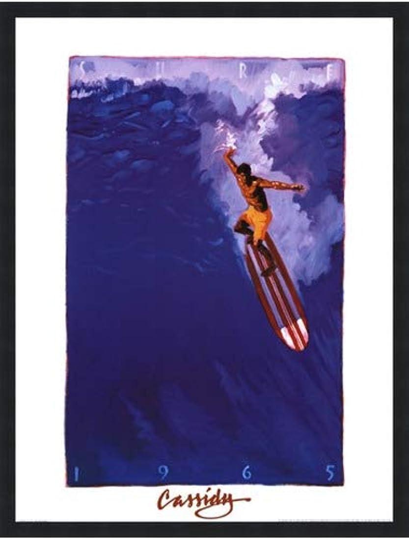 モールス信号文庫本保護するSurf 65 by Michael Cassidy – 18 x 24インチ – アートプリントポスター 18 x 24 Inch LE_71074-F101-18x24