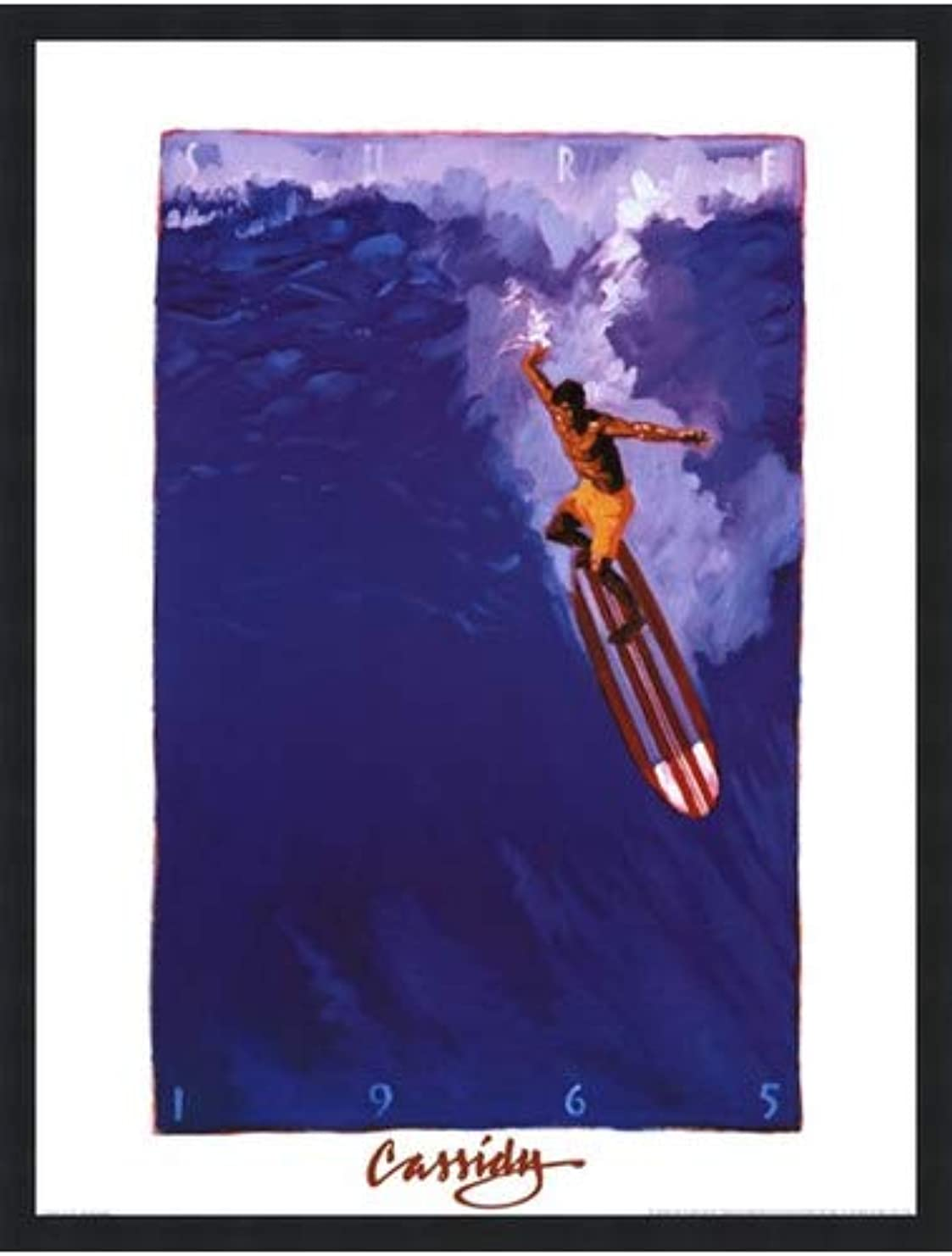 Surf 65 by Michael Cassidy – 18 x 24インチ – アートプリントポスター 18 x 24 Inch LE_71074-F101-18x24