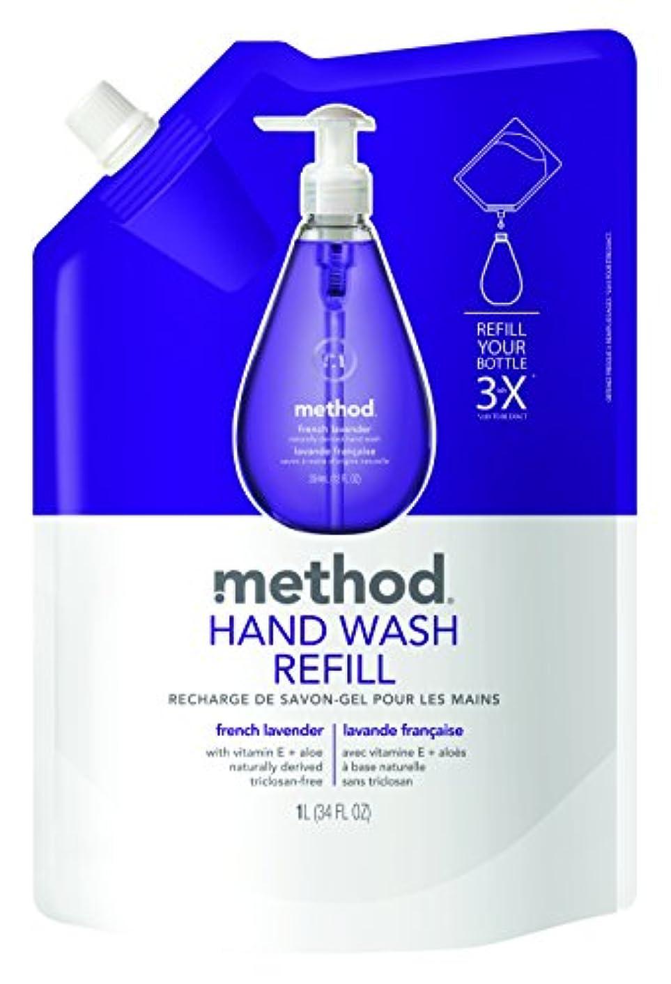 商標メロドラママスタードメソッド(Method) ハンドソープ ジェル リフィル フレンチラベンダー 1L