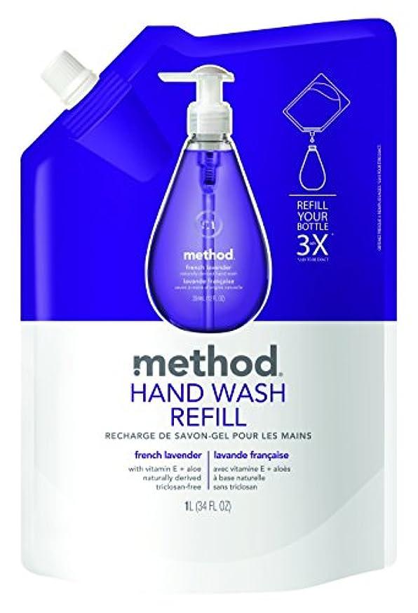海藻健全甘やかすメソッド(Method) ハンドソープ ジェル リフィル フレンチラベンダー 1L