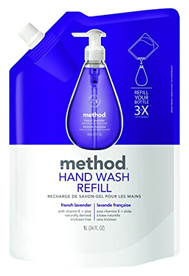 メソッド(Method) ハンドソープ ジェル リフィル フレンチラベンダー 1L