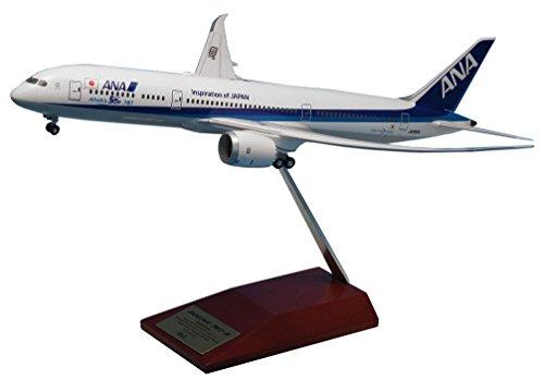 全日空商事 1/200 B787-9 JA882A ANA's 50th 787 スナップフィットモデル (Wifi レドーム・ギアつき) 完成品