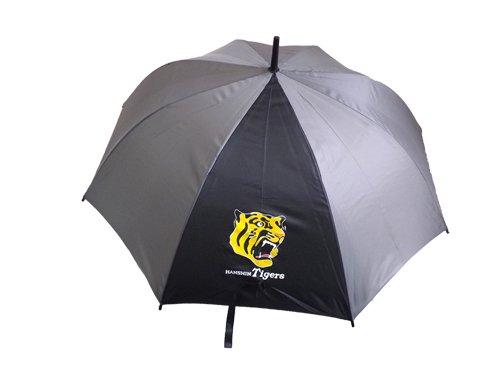阪神タイガース ロゴ入り傘(グレー×ブラック)
