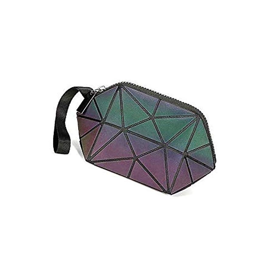 昇る傾く悪名高い1ピースピンクコンパクト機能化粧バッグ化粧ブラシバッグ