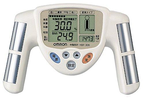オムロン 体脂肪計 HBF-306-W ホワイト...