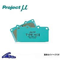 プロジェクトμ タイプHC+ フロント左右セット ブレーキパッド ステップワゴン RF7