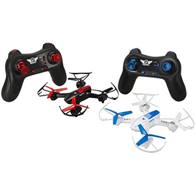 GPX DR1717B 2pk Battle Drone W/4 Motors Toys & 4 Rotors Plus 2 Remotes [並行輸入品]