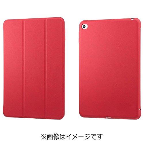 【正規代理店品】SoftBank SELECTION ホルダーケース for iPad mini 4 レッド SB-ID08-LCTC/RD