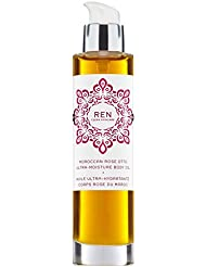 Renモロッコはオットー超水分ボディオイル100ミリリットルをバラ (REN) (x2) - REN Moroccan Rose Otto Ultra-Moisture Body Oil 100ml (Pack of 2...