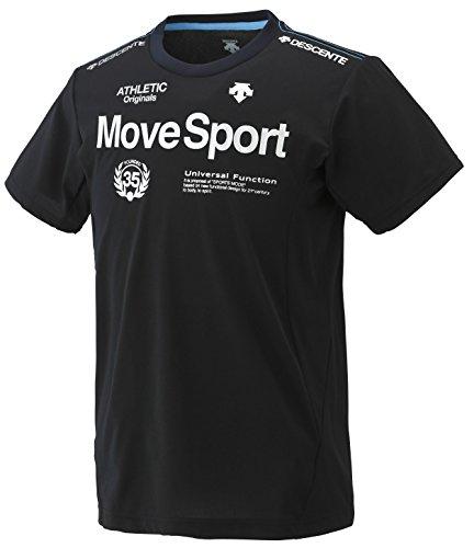 (デサント)DESCENTE トレーニング MOVE SPORT タフT 半袖シャツ DAT-5604 [メンズ] BLK M