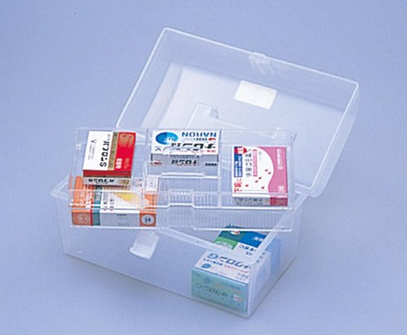 にはまってクライストチャーチ明らかにするIMG 透明薬箱 L