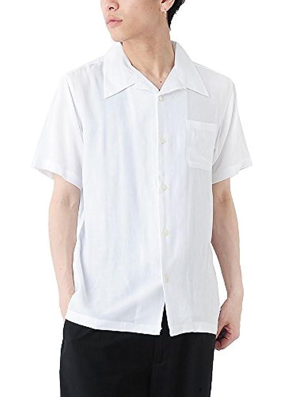 女将者すずめ(ベストマート) BestMart 大人 ゆる レーヨン素材 オープンカラー 半袖 シャツ メンズ 623777