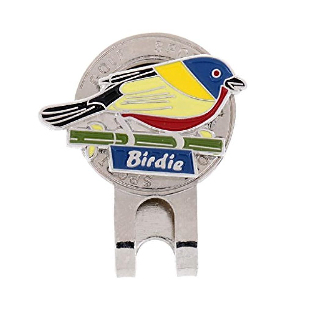 洗剤ブルームトースト鳥型 磁気 ハットクリップ ゴルフ ボールマーカー クリップ キャップバイザー ギフト