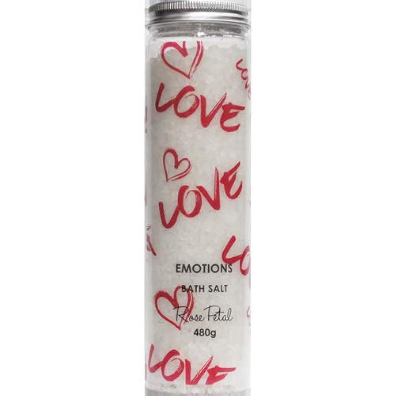 出身地明るい旅三和トレーディング EMOTIONS エモーション Fragranced Bath Salts バスソルト Love ラブ(Rose Petal ローズペタル)