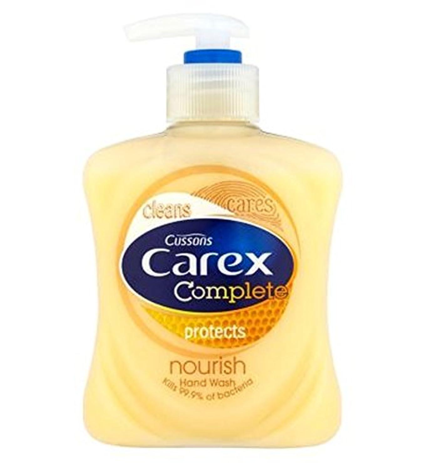 避難するびっくり取り替えるCarex Complete Nourishing Hand Wash 250ml - スゲ属完全な栄養ハンドウォッシュ250ミリリットル (Carex) [並行輸入品]