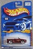 Mattel (マテル) Hot Wheels (ホットウィール) 2001 1:64 スケール Maroon Dodge (ドッジ) Sidewinder ダイキャスト #088 ミニカー ダイキャスト 車 自動車 ミニチュア 模型 (並行輸入)