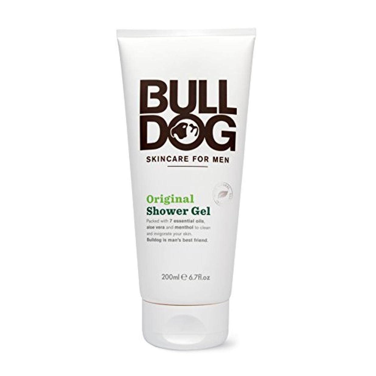 華氏賭け先住民ブルドッグ Bulldog オリジナル シャワージェル(ボディ用洗浄料) 200mL