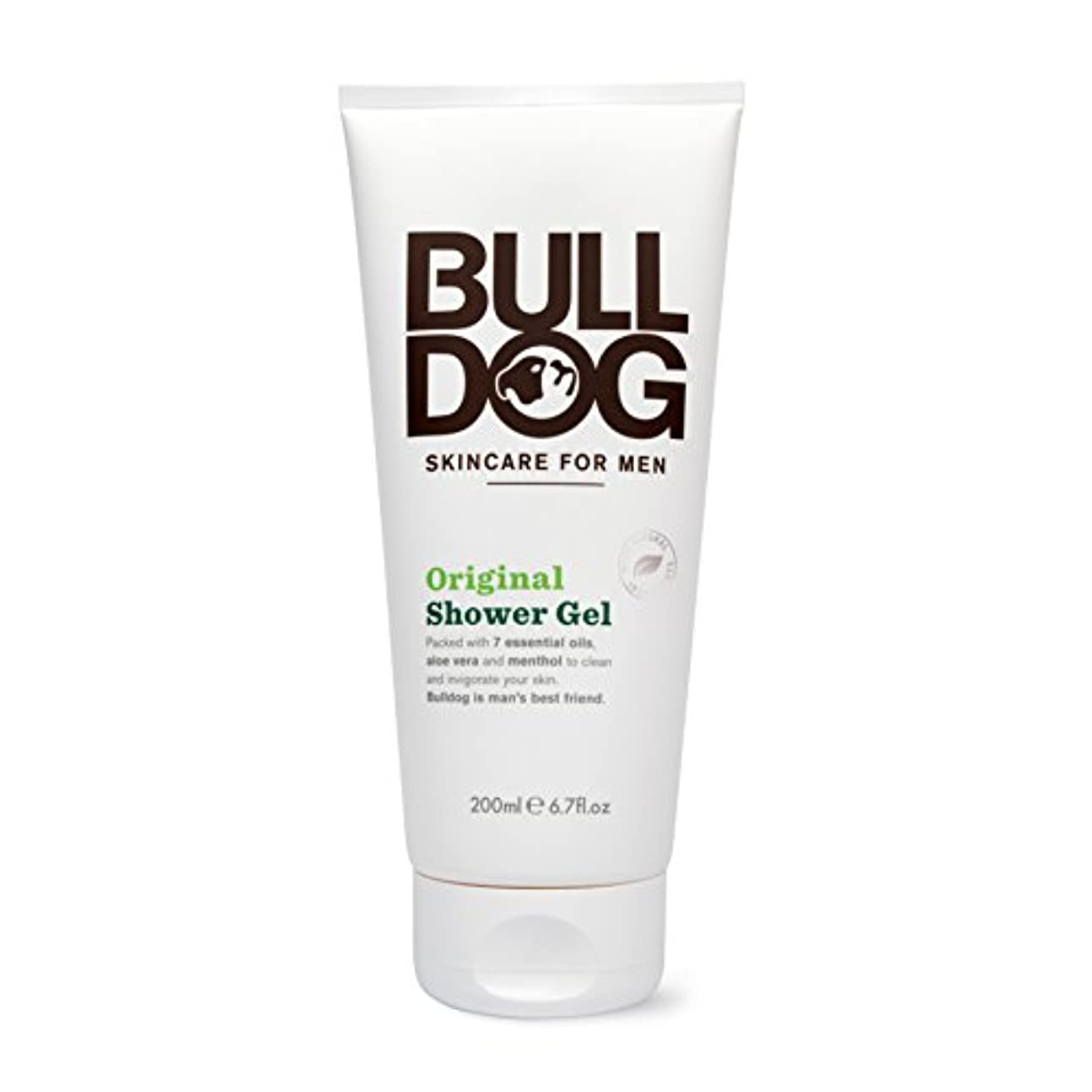 コントラスト付ける料理ブルドッグ Bulldog オリジナル シャワージェル(ボディ用洗浄料) 200mL