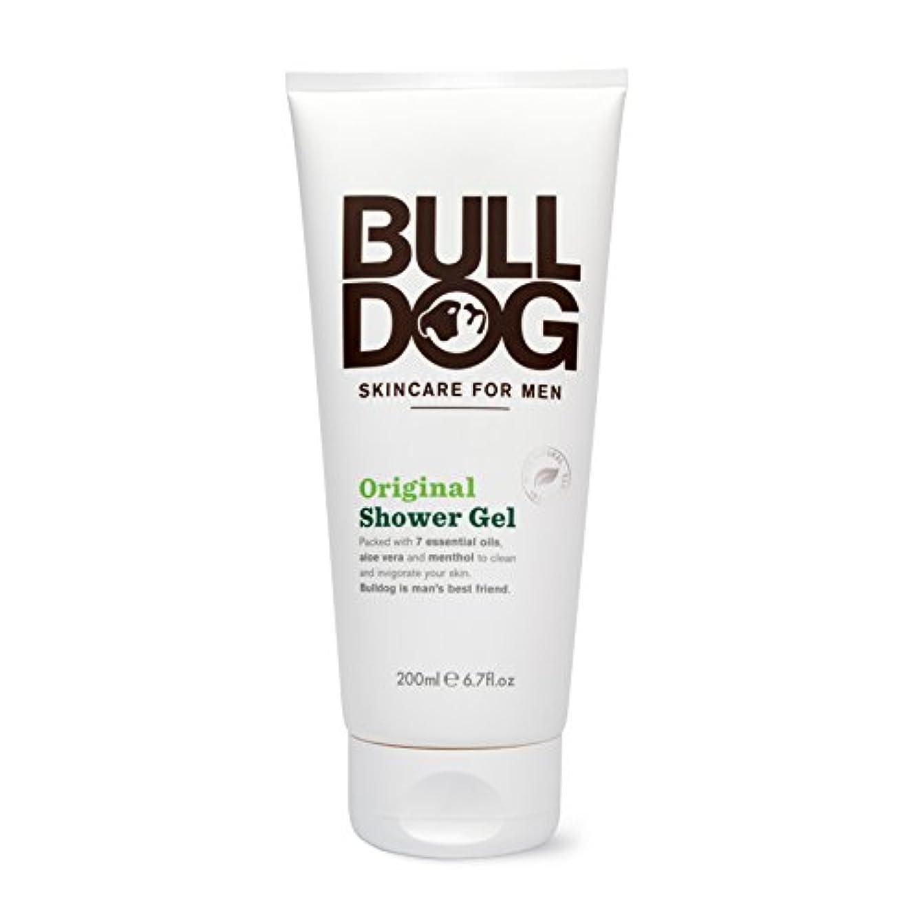 時期尚早しっとり間欠ブルドッグ Bulldog オリジナル シャワージェル(ボディ用洗浄料) 200mL