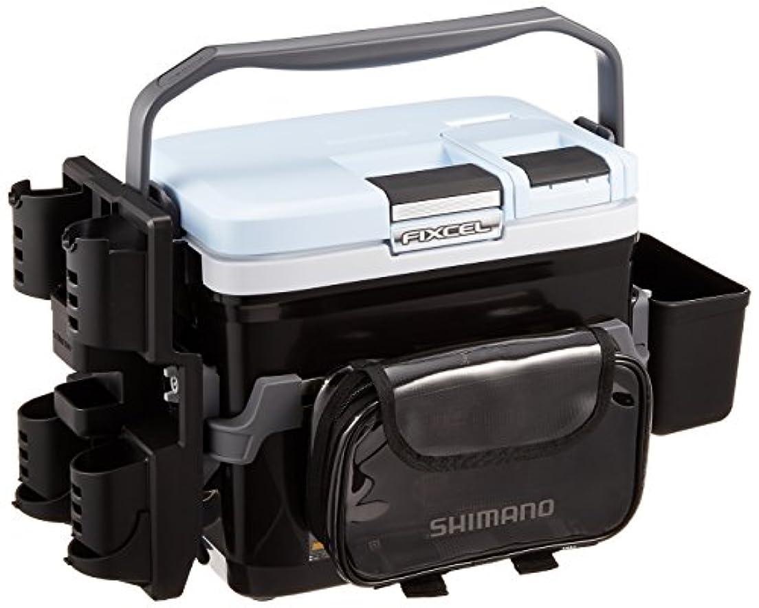 スキル禁止アクロバットシマノ(SHIMANO) クーラーボックス 小型 9L フィクセル ライトゲームスペシャル2 90LF-L09P 釣り用 ブラック