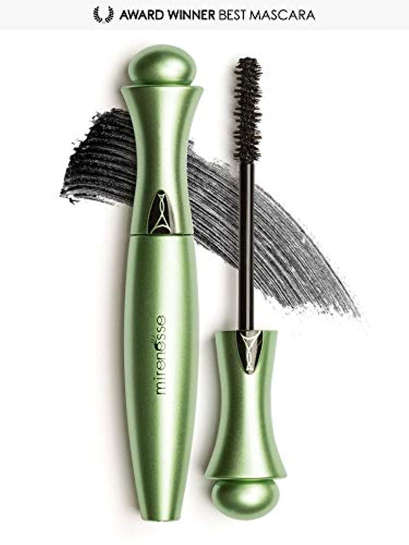 選出するネスト傾くMirenesse Cosmetics Organic Secret Weapon 24hr Mascara - Shade - Black