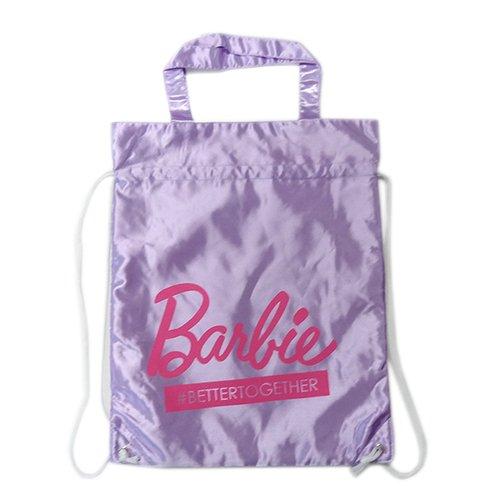 バービー ナップサック パープル 12483 Barbie リュック かばん ゆうパケット【即日・翌日発送】