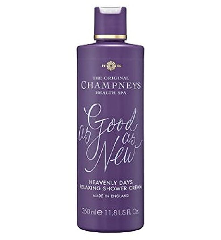 チーター組み込む指定するチャンプニーズ天の日のリラックスシャワークリーム350ミリリットル (Champneys) (x2) - Champneys Heavenly Days Relaxing Shower Cream 350ml (Pack...