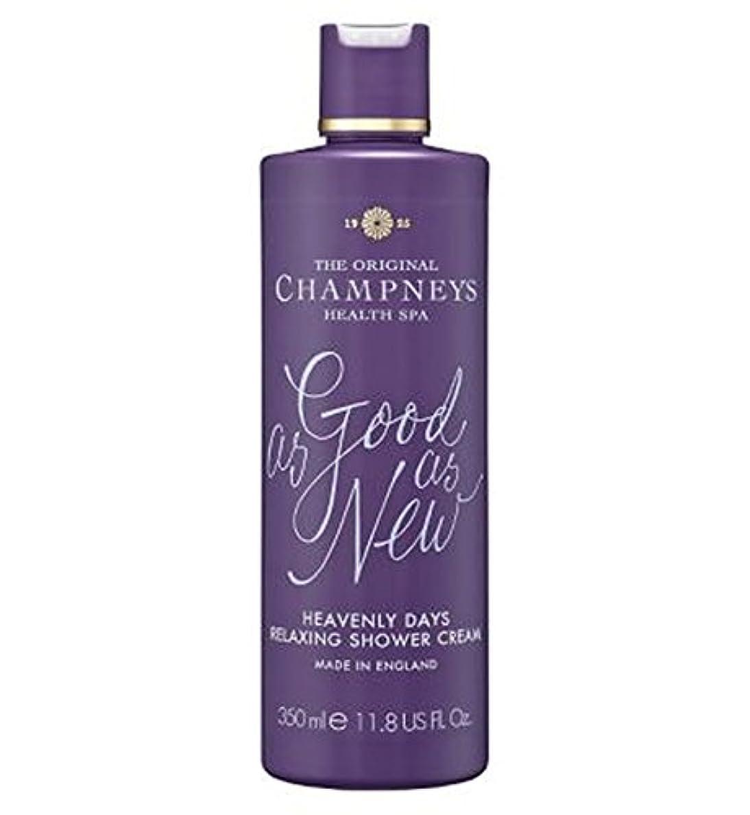 救い論理的に落胆したチャンプニーズ天の日のリラックスシャワークリーム350ミリリットル (Champneys) (x2) - Champneys Heavenly Days Relaxing Shower Cream 350ml (Pack...