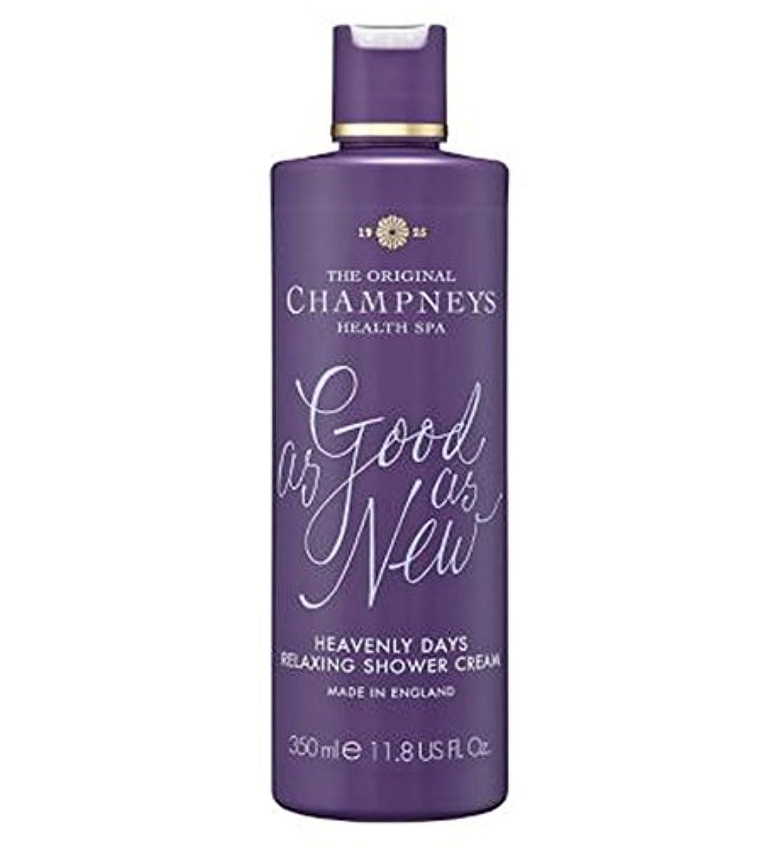 輝度弁護人近似チャンプニーズ天の日のリラックスシャワークリーム350ミリリットル (Champneys) (x2) - Champneys Heavenly Days Relaxing Shower Cream 350ml (Pack...