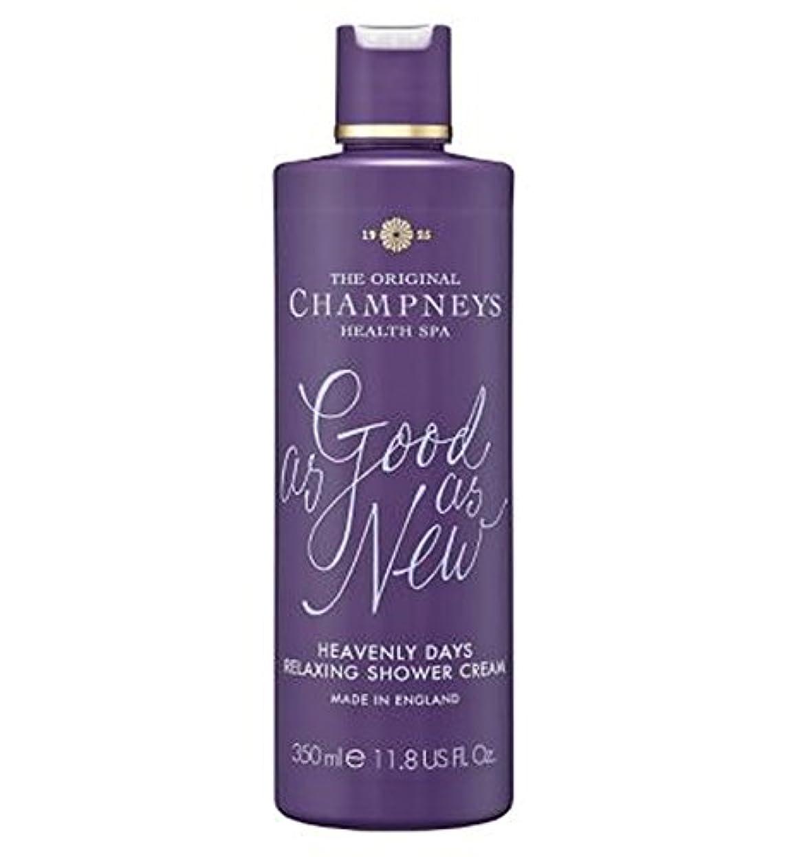 頂点トライアスロン疑いチャンプニーズ天の日のリラックスシャワークリーム350ミリリットル (Champneys) (x2) - Champneys Heavenly Days Relaxing Shower Cream 350ml (Pack...