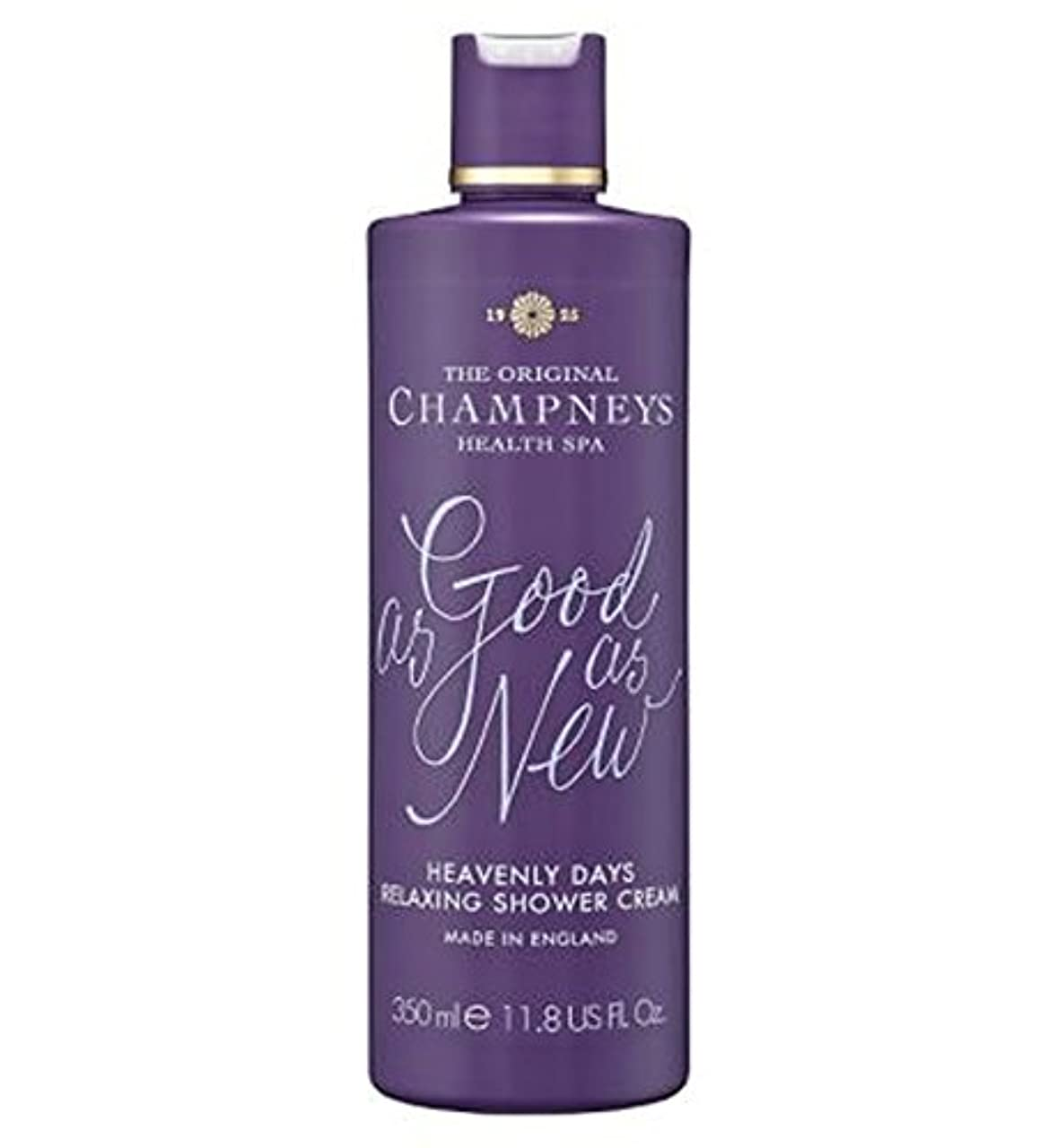 対応するアミューズメントリングバックチャンプニーズ天の日のリラックスシャワークリーム350ミリリットル (Champneys) (x2) - Champneys Heavenly Days Relaxing Shower Cream 350ml (Pack...