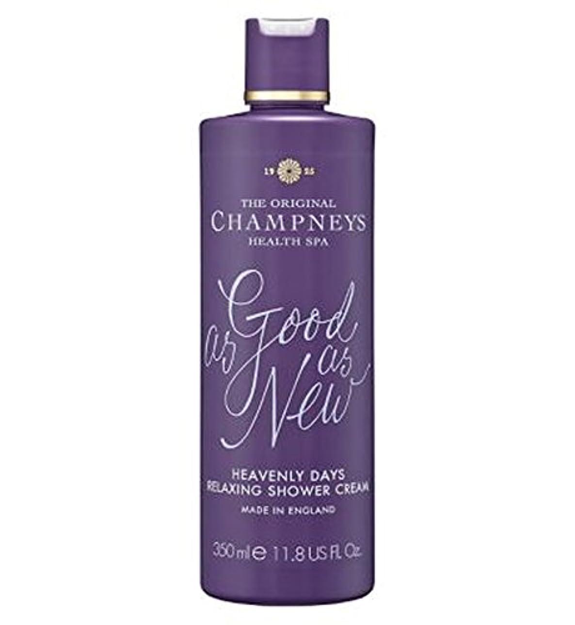 視聴者きしむアッパーチャンプニーズ天の日のリラックスシャワークリーム350ミリリットル (Champneys) (x2) - Champneys Heavenly Days Relaxing Shower Cream 350ml (Pack of 2) [並行輸入品]