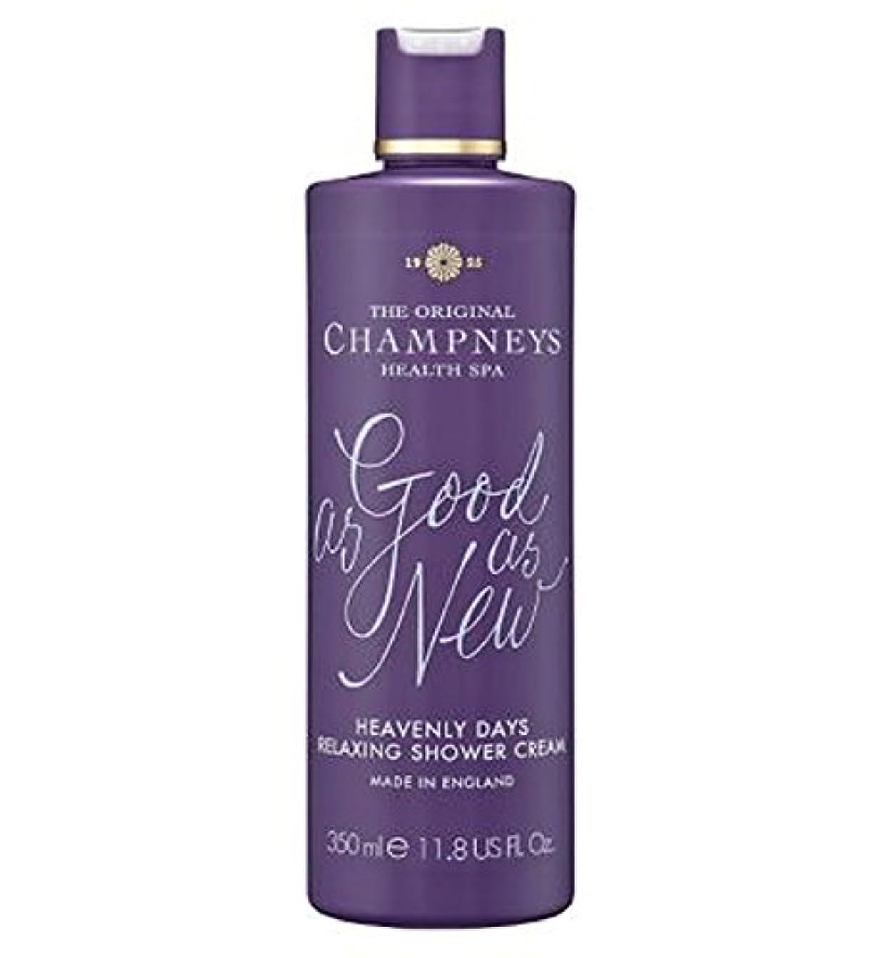 対角線快適ボーカルチャンプニーズ天の日のリラックスシャワークリーム350ミリリットル (Champneys) (x2) - Champneys Heavenly Days Relaxing Shower Cream 350ml (Pack...