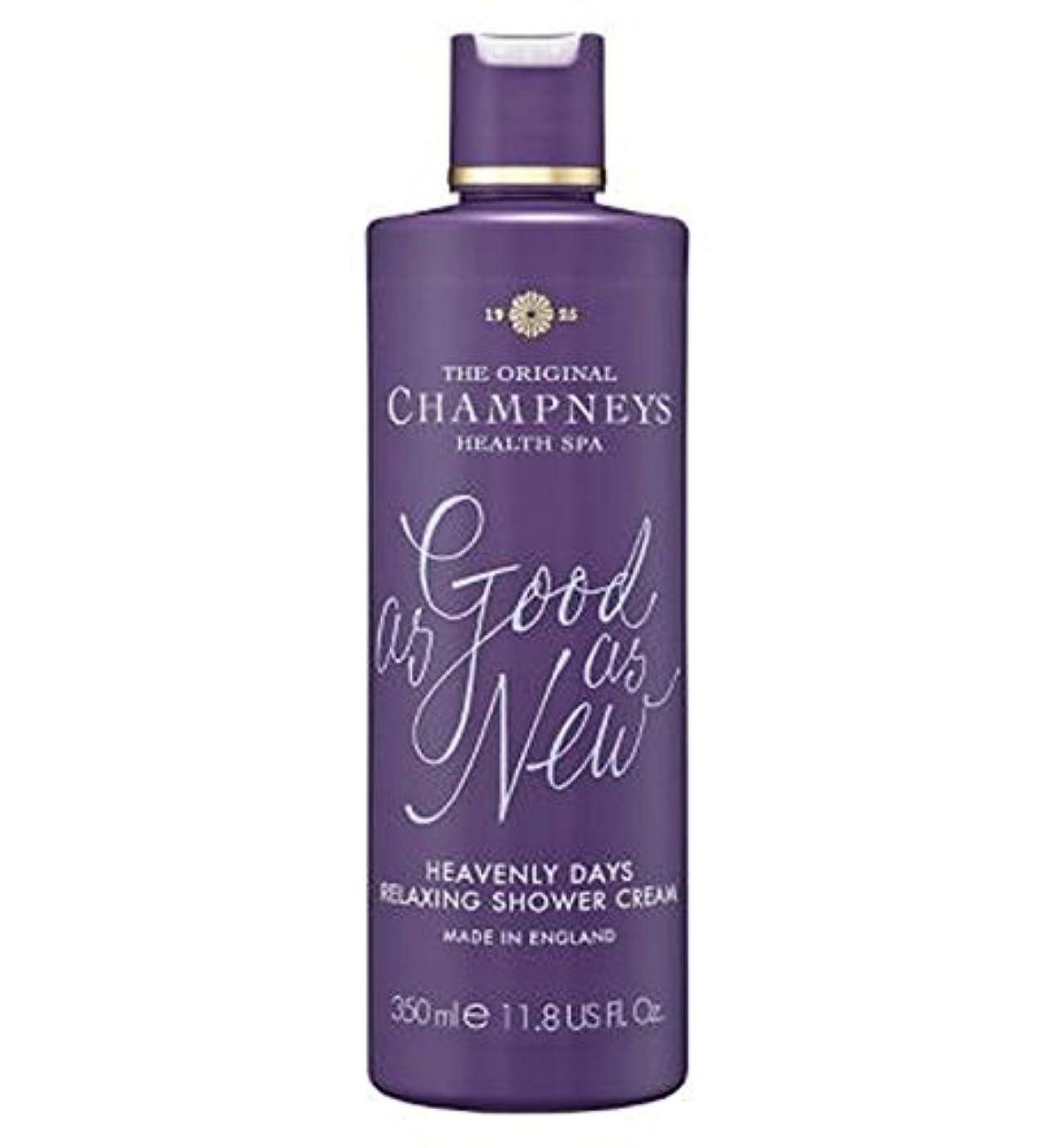 ゴシップ佐賀クリームチャンプニーズ天の日のリラックスシャワークリーム350ミリリットル (Champneys) (x2) - Champneys Heavenly Days Relaxing Shower Cream 350ml (Pack...