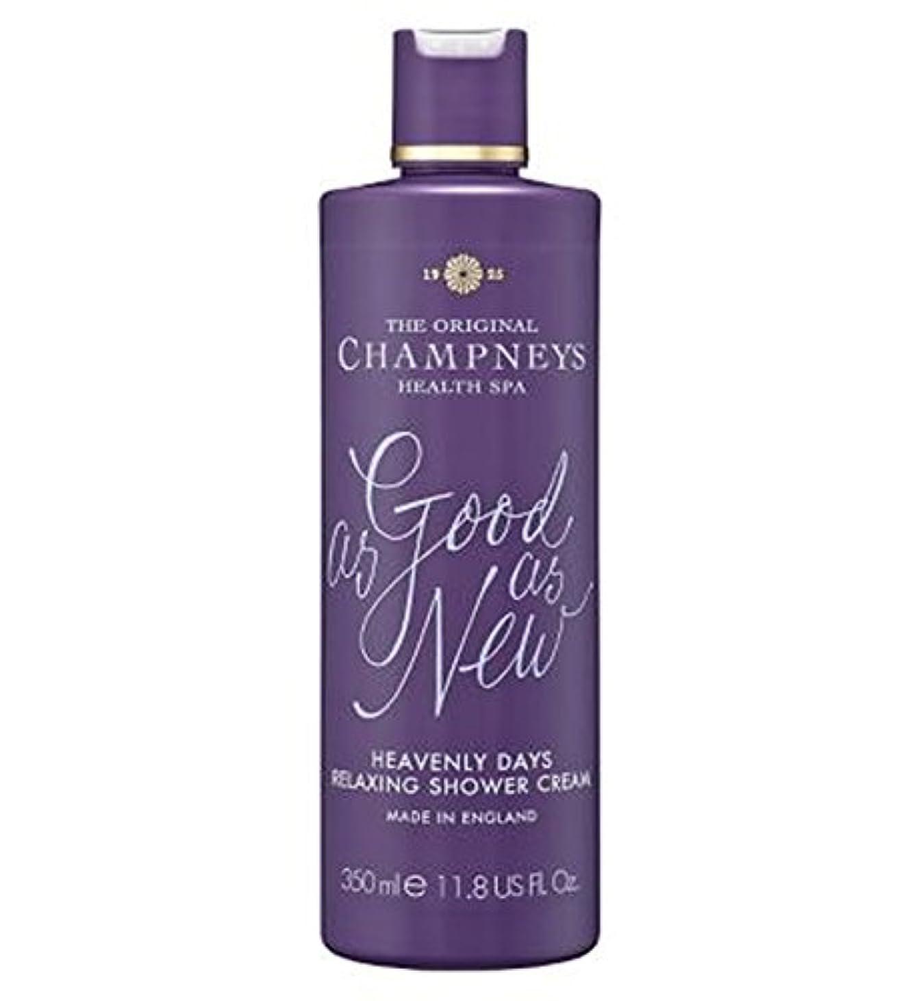 一見オリエンタル現実的Champneys Heavenly Days Relaxing Shower Cream 350ml - チャンプニーズ天の日のリラックスシャワークリーム350ミリリットル (Champneys) [並行輸入品]