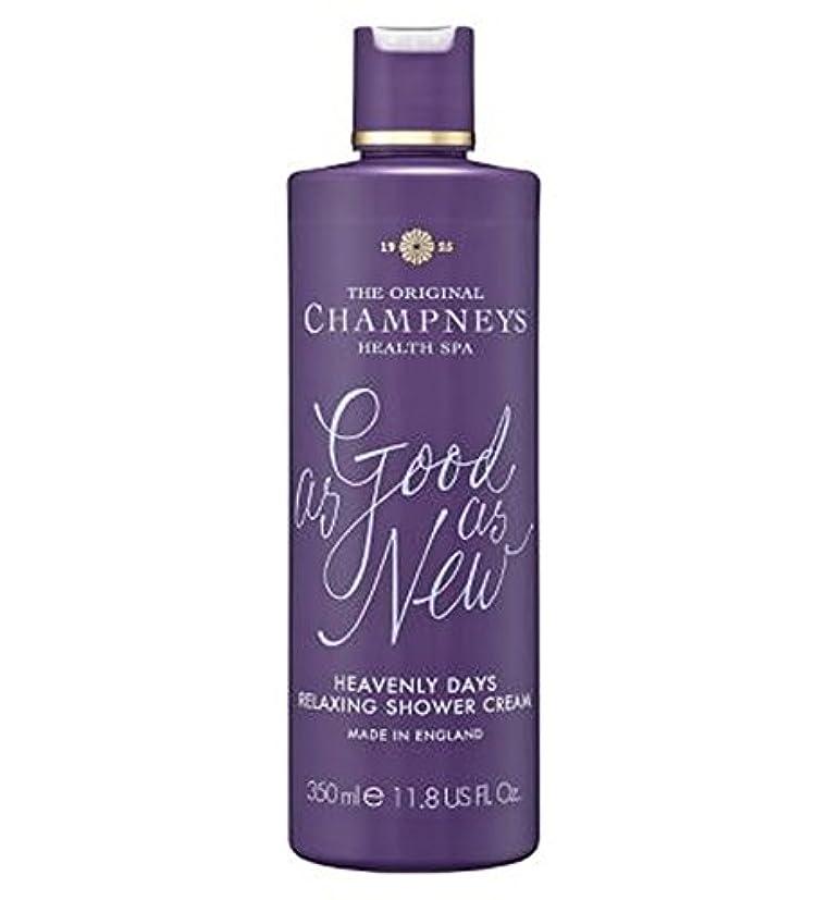 弁護オフェンスはしごチャンプニーズ天の日のリラックスシャワークリーム350ミリリットル (Champneys) (x2) - Champneys Heavenly Days Relaxing Shower Cream 350ml (Pack of 2) [並行輸入品]