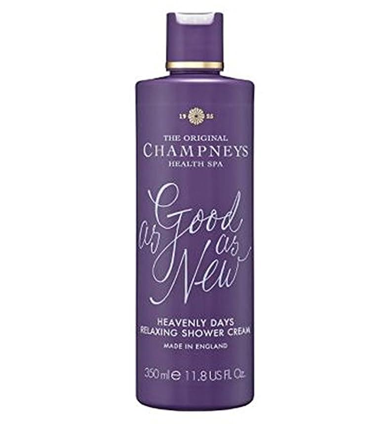 実行可能スパンしょっぱいチャンプニーズ天の日のリラックスシャワークリーム350ミリリットル (Champneys) (x2) - Champneys Heavenly Days Relaxing Shower Cream 350ml (Pack...