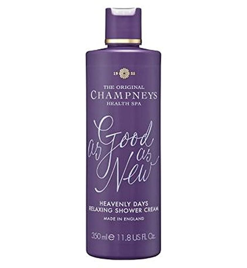 厚さ作者フローチャンプニーズ天の日のリラックスシャワークリーム350ミリリットル (Champneys) (x2) - Champneys Heavenly Days Relaxing Shower Cream 350ml (Pack...