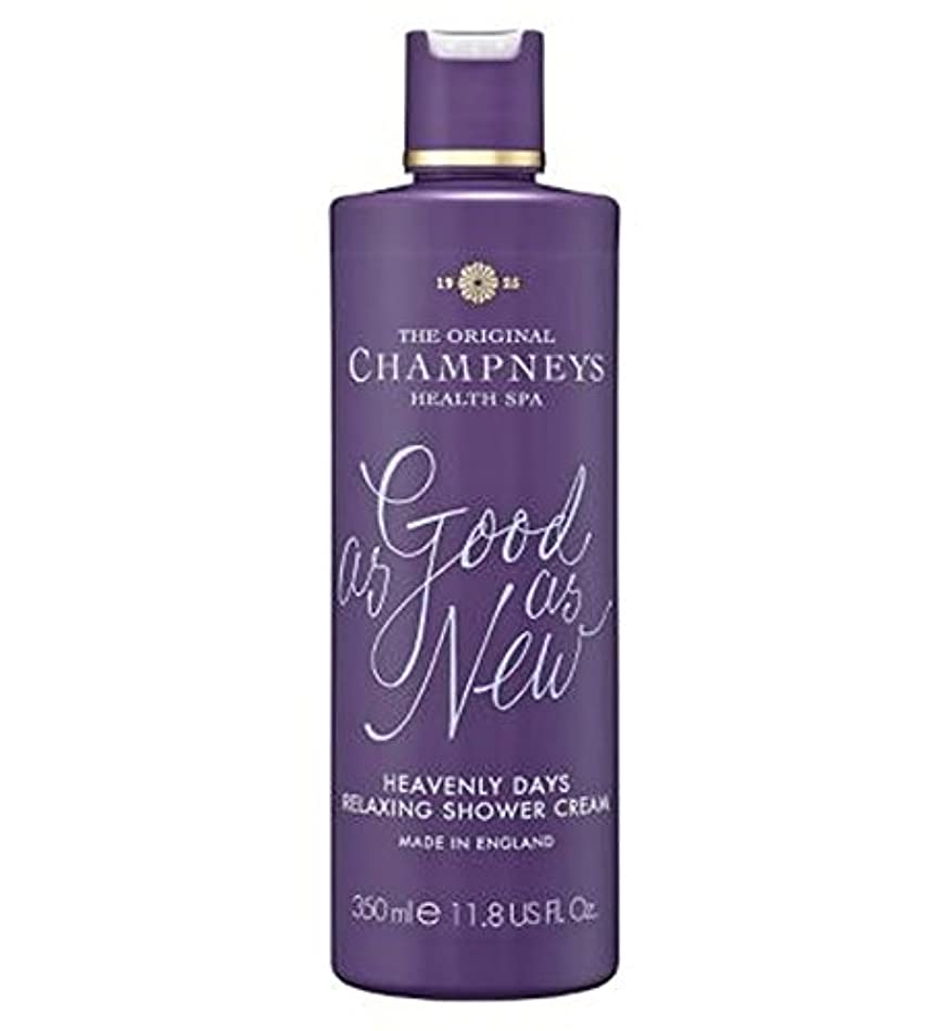 反乱不快銛チャンプニーズ天の日のリラックスシャワークリーム350ミリリットル (Champneys) (x2) - Champneys Heavenly Days Relaxing Shower Cream 350ml (Pack...