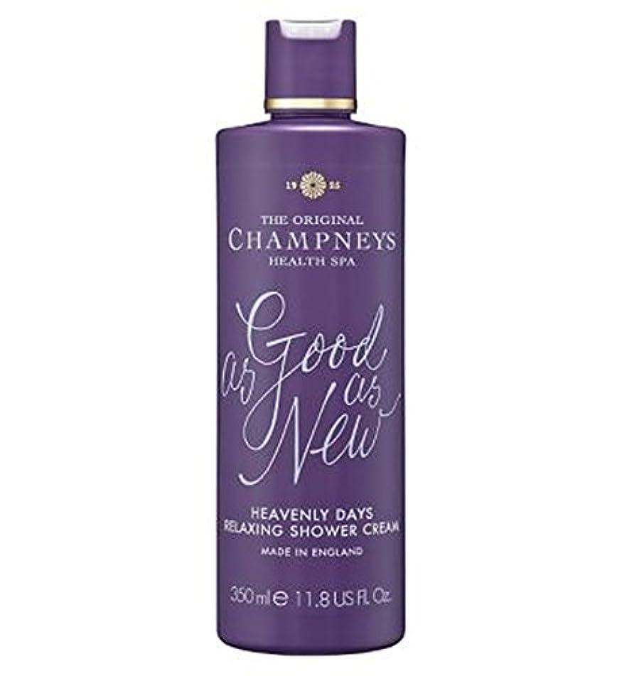 ブラウズ遮る廊下チャンプニーズ天の日のリラックスシャワークリーム350ミリリットル (Champneys) (x2) - Champneys Heavenly Days Relaxing Shower Cream 350ml (Pack...