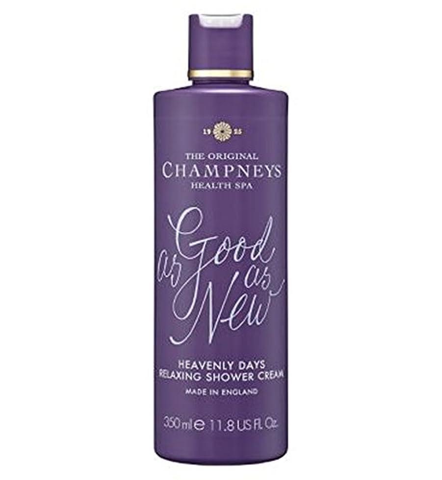 ばかげているボンド幸運なことにChampneys Heavenly Days Relaxing Shower Cream 350ml - チャンプニーズ天の日のリラックスシャワークリーム350ミリリットル (Champneys) [並行輸入品]