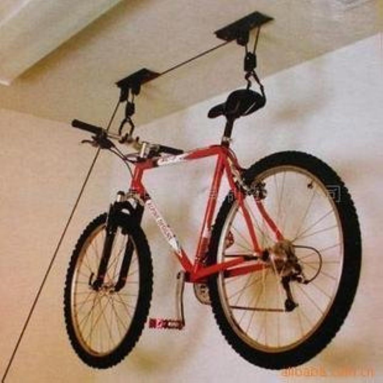 バンジージャンプ市民権ブラシ簡単取付 自転車リフト(バイクラック)