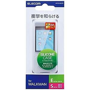 エレコム Walkman S,Eシリーズ シリコンケース クリア NW-S15/NW-S14K/NW-S14/NW-S786/NW-S785K/NW-S785対応 AVS-S15SCCR
