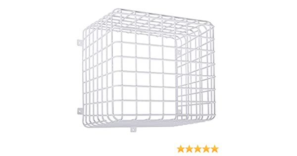 12 x 12 x 12 STI-9730 Steel Wire Guard Damage Stopper Cube Cage Approx Inc Safety Technology International
