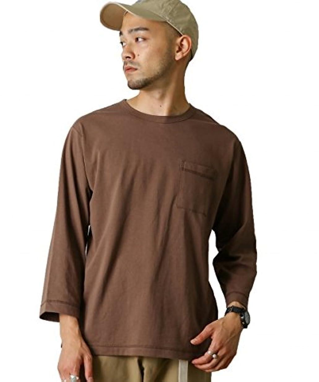 顕著見分けるコマンド(アーバンリサーチ ドアーズ) URBAN RESEARCH DOORS テネシーコットン 8/S Tシャツ DR76-11H004